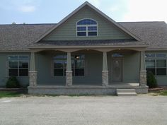 Adding A Front Porch On A Ranch House With A Gable Google Search