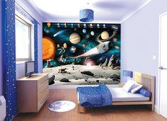 Star wars wallpaper bedroom decor