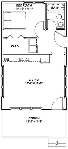 PDF house plans, garage plans, shed plans. The Plan, How To Plan, Small House Plans, House Floor Plans, 1 Bedroom House Plans, Shed House Plans, Tiny Cabin Plans, 20x30 House Plans, Modular Home Floor Plans