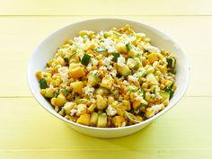 Barley Salad with Corn and Zucchini