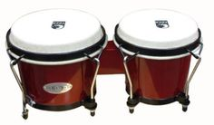 Toca Synergy Series Bongo Set Red (Red) by Toca. $42.99. Toca Synergy Bongos offer exceptionally expressive sound and feel. The bongos feature 2-ply select wood shells, black powder-coated hoops and lugs, and natural rawhide heads. This Toca Bongo Set has an Afro-Cuban design and sound, with strong bass tones. The bongos' EasyPlay hoops protect your hands, and enhance the sound of the drums. The bongos stand up to high tuning ranges, due to their 4-bolt tension p...