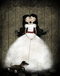 Anne-Julie Aubry - Dark Art Gallery