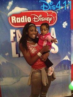 Photos: Coco Jones At Global Winter Wonderland With Radio Disney December 21, 2013