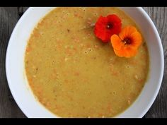 Creamy Carrot Soup Raw Food Recipe plus a lot of other raw soup recipes