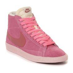 official photos 4b8a0 3ce93 Nike Blazer Mid premium Vintage suede Chaussure pour Femme Rose,MODERN  STYLE!