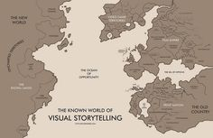 Interesting Concept Map..yay for maps  The Known World of Visual Storytelling