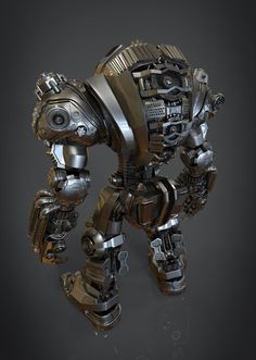 Mecha GLIESE highpoly, jay shang on ArtStation at https://www.artstation.com/artwork/mecha-gliese-highpoly