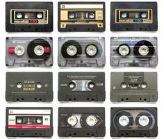 Maxell Cassettes.