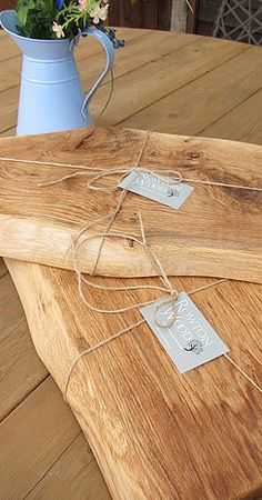 Rowton Wood | Garden Furniture Workshop | RUSTIC OAK KITCHEN BOARDS
