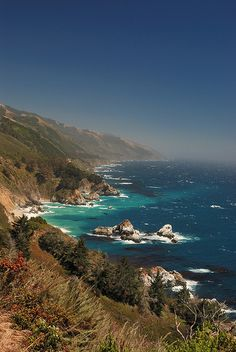 Road trip up the ca coast and camp along the way. Especially in big sur