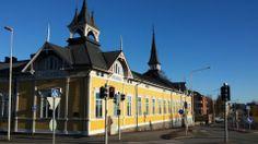 Old school Kokkola. Central Ostrobothnia province of Western Finland - Keski-Pohjanmaa