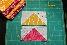 Quick Flying Geese Tutorial / Between Quilts