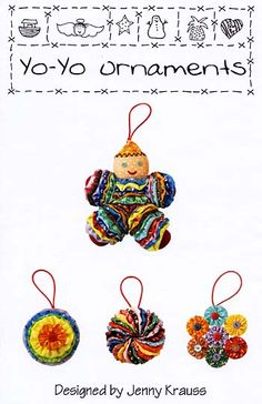 Yo-Yo Ornaments Pattern for sale