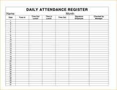 11 best attendance sheet images on pinterest moldings borders and