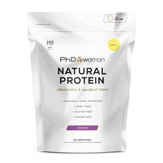 Pin for Later: 8 Vegan Protein Powders That Are Available in the UK PhD Woman Natural Protein PhD Woman Natural Protein (£25)
