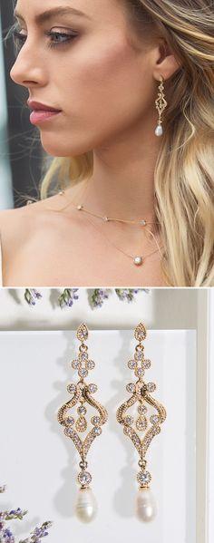 Simple Retro Beautiful Bridal Earrings Long Drop Crystal Earrings Wedding  Prom Earrings Crystal Dangle Post Earring Ellipse Flower Earrings