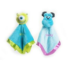 Monsters Inc. blankets. Jonathan has everything in this collection- except Mike Wazowski! Target doesn't have him anymore :(