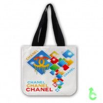 Chanel abstract square glow Tote Bags