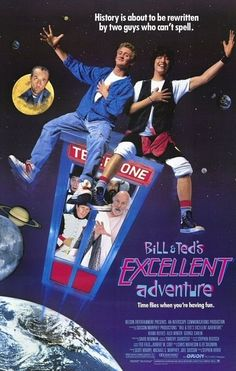 "Bill and Ted's Excellent Adventure (1989) - ""This is a dude who, 700 years ago, totally ravaged China, and who, we were told, 2 hours ago, totally ravaged Oshman's Sporting Goods."""