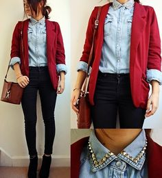 I'm not a fan of the collared shirt, but one similar to it would make this outfit adorable!