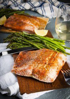 Cedar Plank Salmon in the Oven