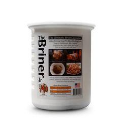 The Briner Brining Bucket, 8 Quart Barbecue Sauce, Bbq, Chicken Quarters, Wood Grill, Whole Turkey, Turkey Brine, Stuffed Whole Chicken, Plastic Plates, Food Grade