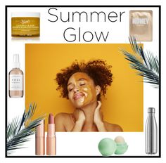 """Glo up-alexismoriah"" by alexismoriah ❤ liked on Polyvore featuring beauty, Kiehl's, Eos, Herbivore and Charlotte Tilbury"