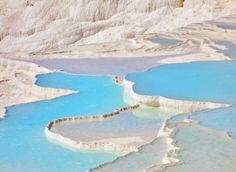 Pamukkale, Turkey by Richard Pearson
