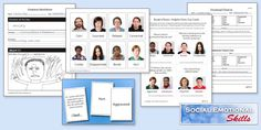 Love the social skills and emotional & behavioral regulation worksheets on do2learn.com