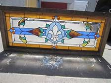 This is a gorgeous American antique Victorian stained glass window that dates from The Antique Leaded Glass window is 18 tall, 44 Antique Stained Glass Windows, Leaded Glass, Stained Glass Art, Mosaic Glass, Victorian Library, Victorian Architecture, Thinking Outside The Box, Architectural Elements, Antiques