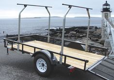 The TopTier™ Load Bar Kit instantly transforms a standard utility trailer into a high capacity transport system capable of carrying multiple canoes, kayaks and bikes while leaving the bed available for camping or hunting equipment. For the general contractor, this bar kit nearly double...