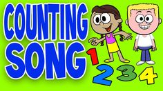 Counting Song - Counting Together with Lyrics Learning to count becomes a fun activity with this delightfully animated video and catchy song! This video is ideal for brain breaks, circle time, group activities and indoor recess. Counting Songs For Kids, Kids Songs, Preschool Music, Preschool Age, Math Songs, Morning Songs, Learning Stations, School Videos, Educational Videos