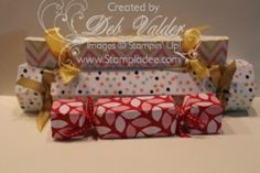 Envelope Punch Board Popper Cracker Valentine Albany Ronald McDonald House Fresh Prints Designer Series Paper 1