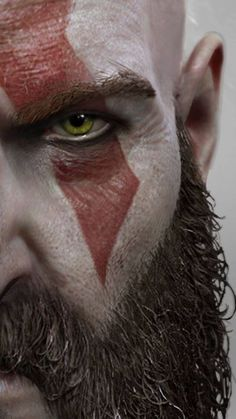 Get more kratos god of war right here.Click this pin for more. god of war kratos God Of War Game, Witcher Wallpaper, War Tattoo, Kratos God Of War, Gaming Wallpapers, Ragnar, Video Game Art, The Villain, Airbrush