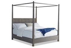 Driftwood Alfie Canopy Bed, Queen