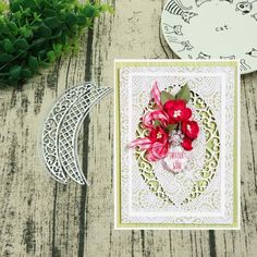 alignmentpai 1 Pair Embroidery Flower Lace Trim Sewing Appliques DIY Handmade Craft Clothes Decor White