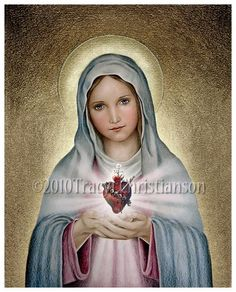Immaculate Heart of Mary Print