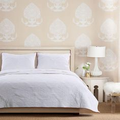 Greenland Home Fashions Cameo King Quilt Set 3 Piece In Whisper White Gl Bed And Bath Bedding Comforters King Quilt Sets, Queen Quilt, Quilted Pillow Shams, Twin Quilt, Mattress Brands, Space Furniture, Baby Clothes Shops, Bed Spreads, Quilts