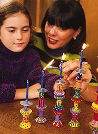 Shabbat: Make these Shabbat candlesticks out of simple wood pieces, but be careful to line the top piece with foil to avoid a fire! For more Shabbat ideas, follow Everyday Simchas Shabbat Pinterest Board.