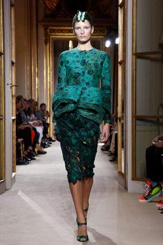 Giambattista Valli Haute Couture Fall 2012 collection.