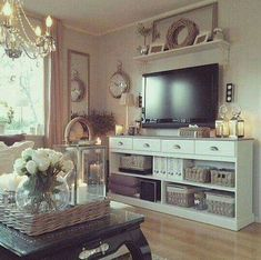 50 cool tv stand designs for your home tv stand ideas diy, tv stand ideas for living room, tv stand ideas bedroom, tv stand ideas black, tv stand ideas Living Room Tv, Apartment Living, Home And Living, Small Living, Modern Living, Modern Tv, Cozy Living, Tv Stand Ideas For Living Room, Modern Room