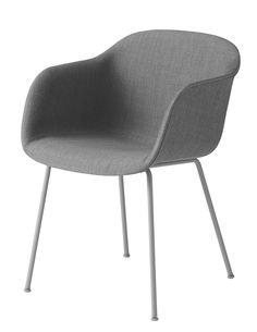 Muuto Fiber - Tube Base - Upholstery | mintroom.de #Muuto #mintroom #shop #stühle #holz #muuto #iskos berlin #alle