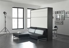 The London Wallbed Company - Sofa Wallbeds - Loft _ Freestanding and Space saving Used Office Furniture, Smart Furniture, Space Saving Furniture, Bedroom Furniture, Convertible Furniture, Transforming Furniture, Loft, Bed Wall, Armoire