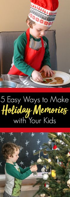 ✨ 5 Easy Ways to Make Holiday Memories with Your Kids This Year! @ikea #ad.