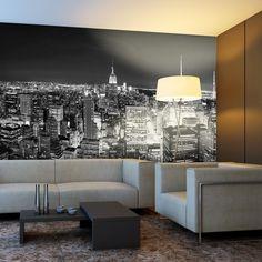 Manhattan de noche | vinilos decorativos, fotomurales y textos en vinilo