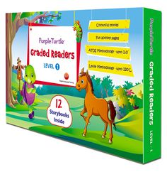 December 2017 of Purple Turtle Graded Readers, Level 3 from ELT by Deena Peterson. Turtle Book, Purple Turtle, Cute Turtles, 12th Book, Historical Fiction, Learn To Read, Learn English, Fun Activities, Kids Learning