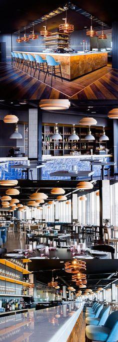 The Beautiful Temple House Restaurant Is A Dream Come True Pub Design, Restaurant Design, Bar Interior Design, Luxury Restaurant, Vintage Restaurant, Design Studio, Cafe Restaurant, Bar Lounge, Cafe Bar