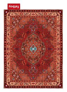 Carpet Picnic Lounge / Outdoor - 280 x 210 cm Red | Carpet Fatboy