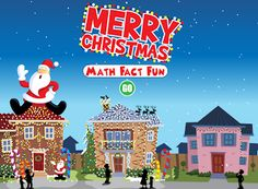 Interactive Education: Christmas Addition Practice - Choose any operation = FUN Interactive Christmas Games, Christmas Games For Kids, Christmas Math, Christmas Ideas, Merry Christmas, Kindergarten Christmas, Interactive Whiteboard, Interactive Learning, Christmas Lights