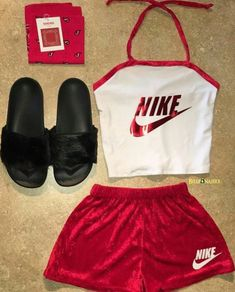 new Ideas fitness clothes nike casual Cute Nike Outfits, Cute Lazy Outfits, Sporty Outfits, Teenage Outfits, Teen Fashion Outfits, Dope Outfits, Swag Outfits, Outfits For Teens, Trendy Outfits